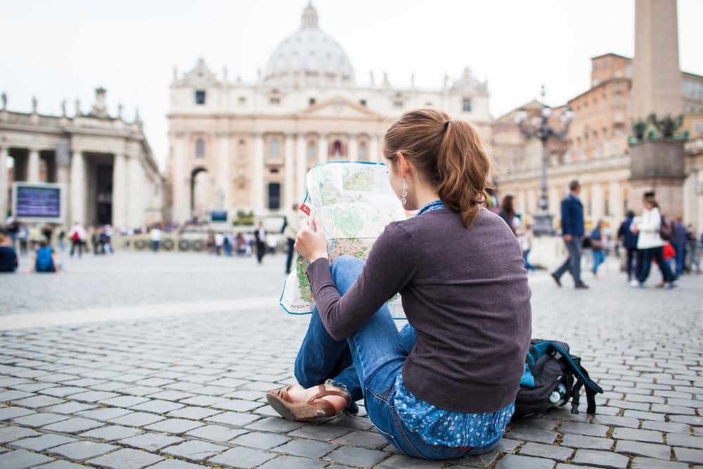 Petersplatz Stadtrundfahrt Rom