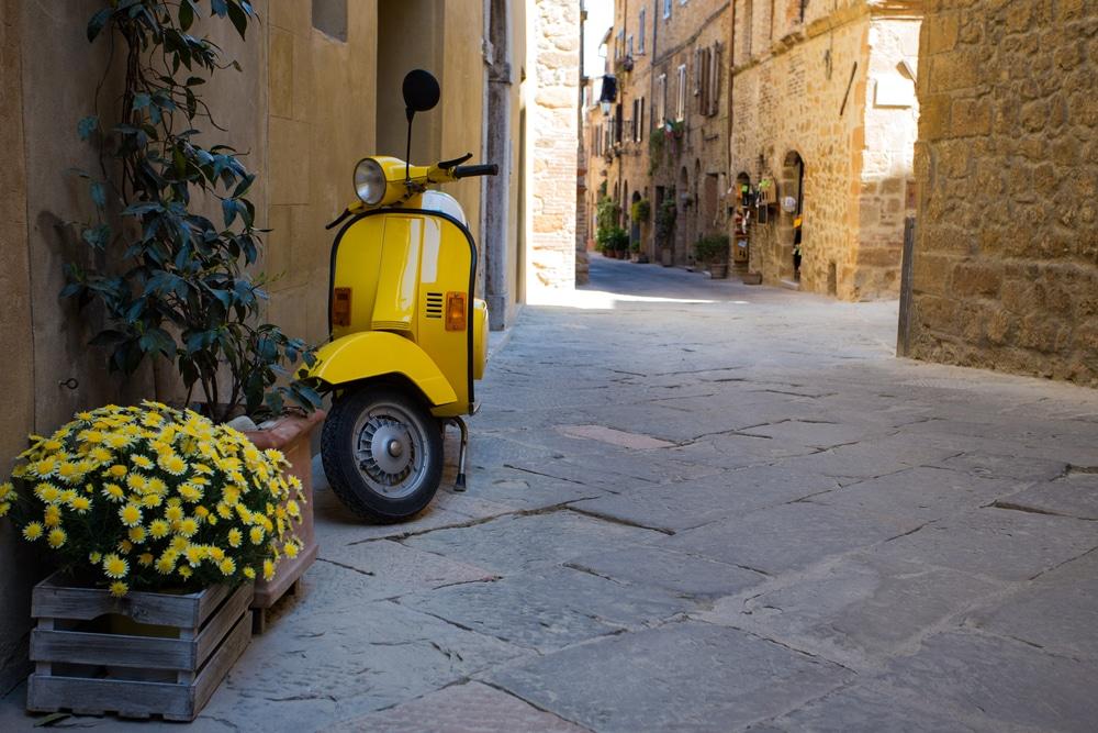 Rom Stadtrundfahrt Vespa