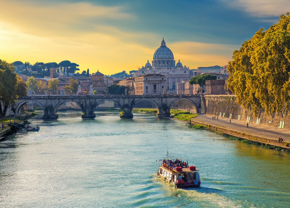 Stadtrundfahrt Rom Boot