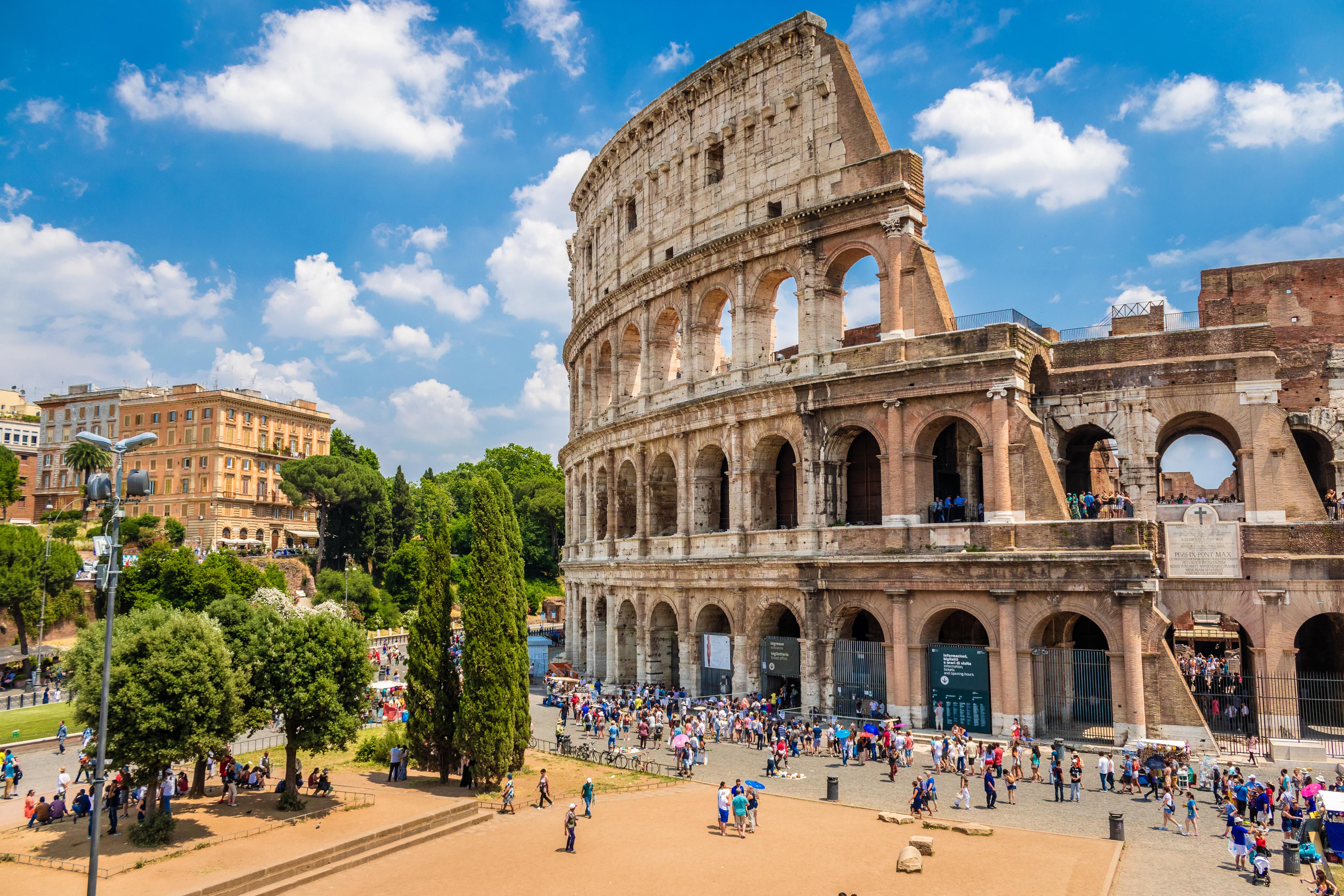 Rom ohne Anstehen