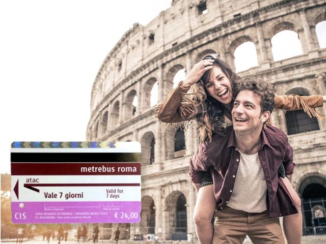 Rom Öffentlicher Verkehr 7 Tage CIS