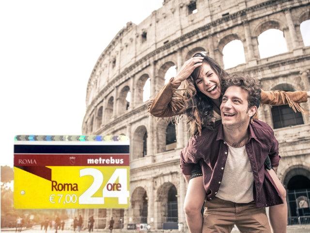Öffentlicher Verkehr Rom Tagesticket