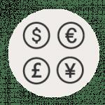 Geld und Kosten bei einer Reise